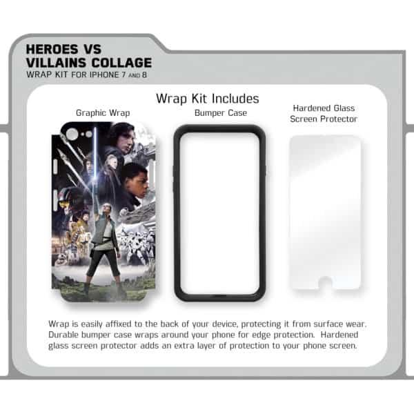 Heroes Villains Kit Contents Sell Sheet No logos